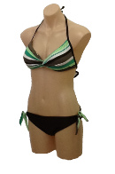 Ocean Curl - Bikini - Chloe Twist Front Soft Cup - Mix & Match with any Pant. Click for description