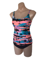 Ocean Curl - Tankini - Honey Top Soft Cup - Mix & Match with any Pant. Click for description. Click for description