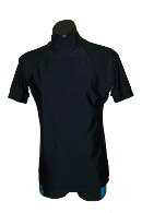 Ocean Curl - Mens Short Sleeve Sunshirt - Click for description